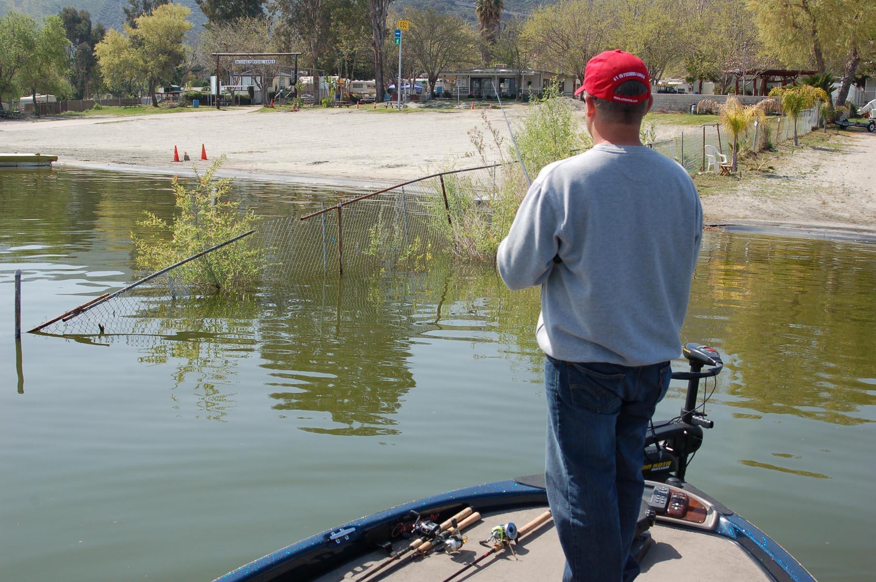 March 2010 kramer gone fishing for Lake elsinore fishing report