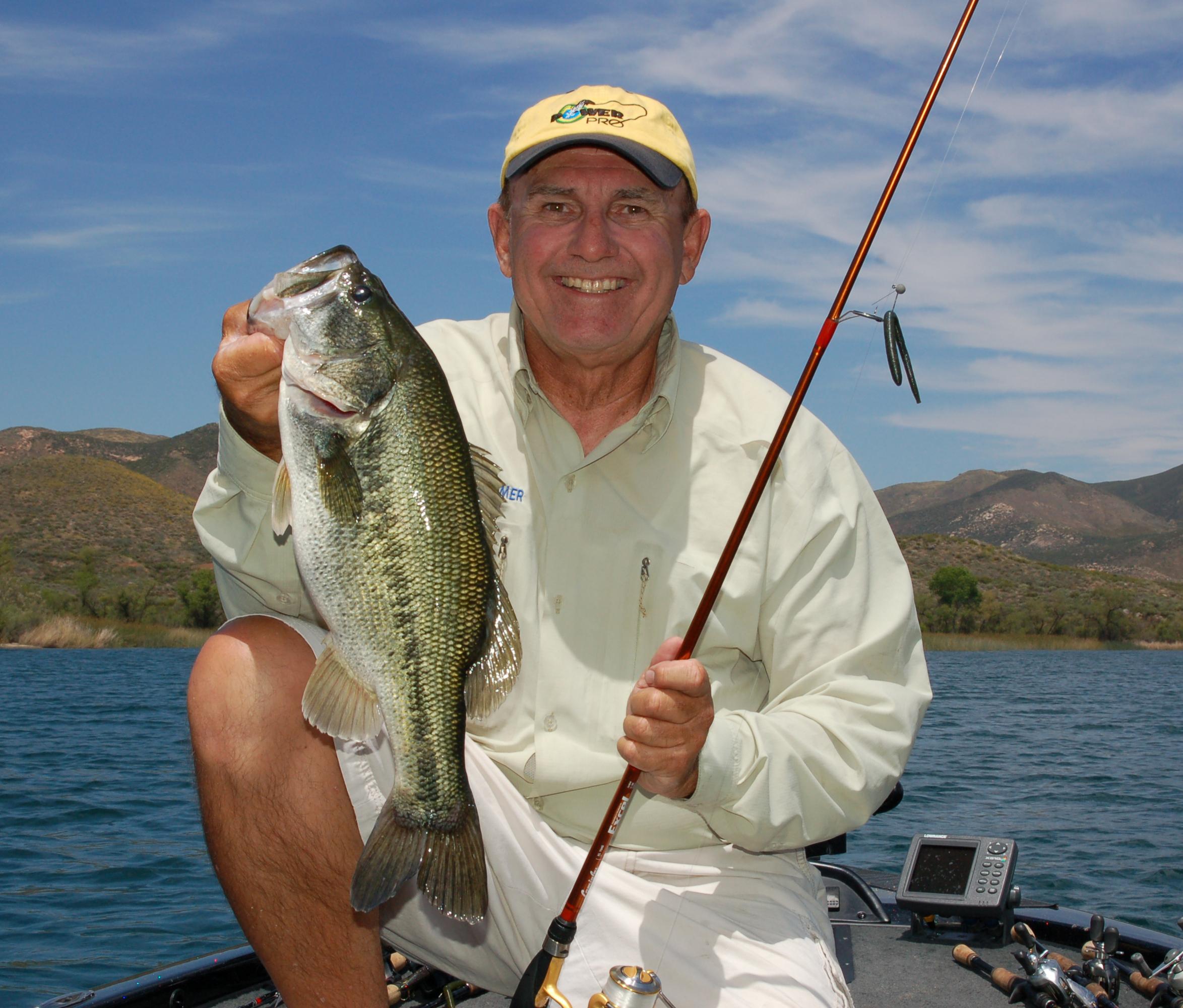 Lake skinner a winner today kramer gone fishing for Lake skinner fishing report