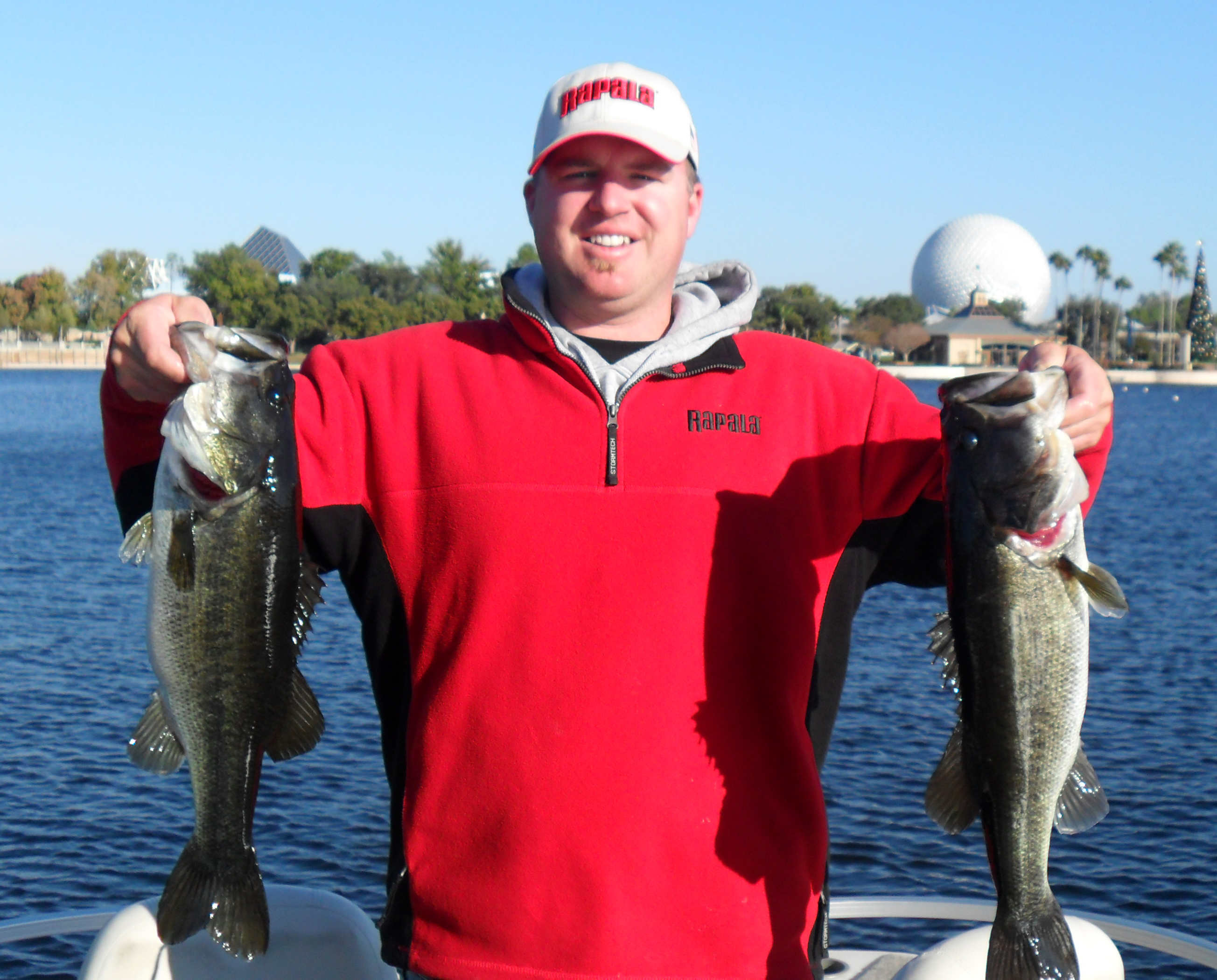 socal bass guide tests disney world kramer gone fishing