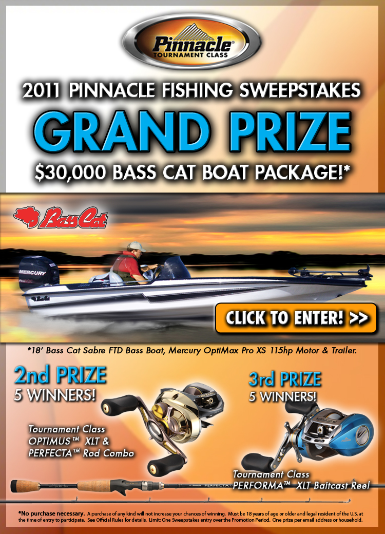 January 2011 kramer gone fishing for Free fishing tackle giveaway
