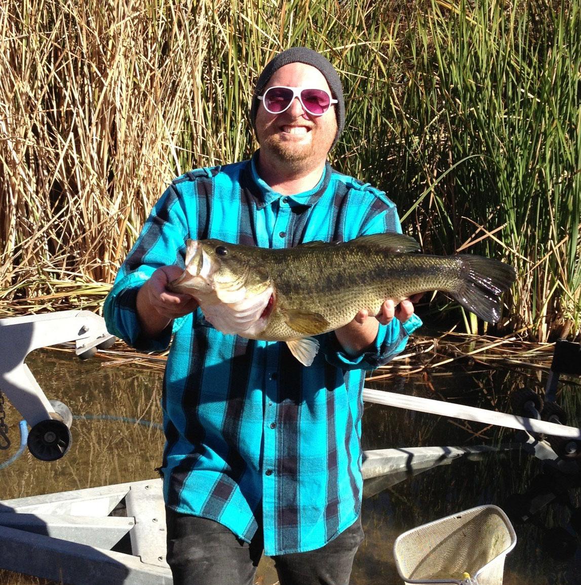 January 2012 kramer gone fishing for Lake elsinore fishing report