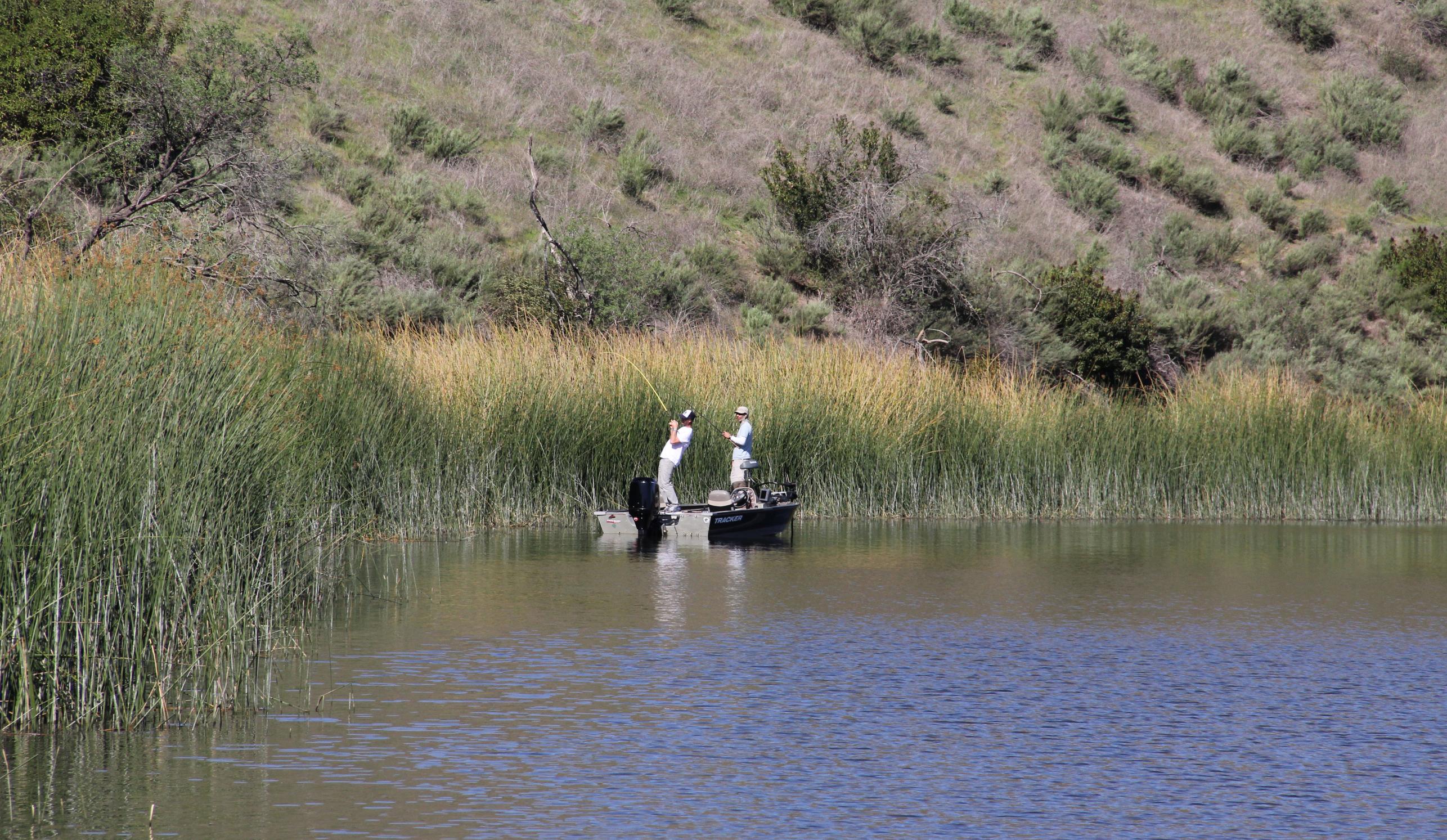March 2012 kramer gone fishing for Lake hodges fishing