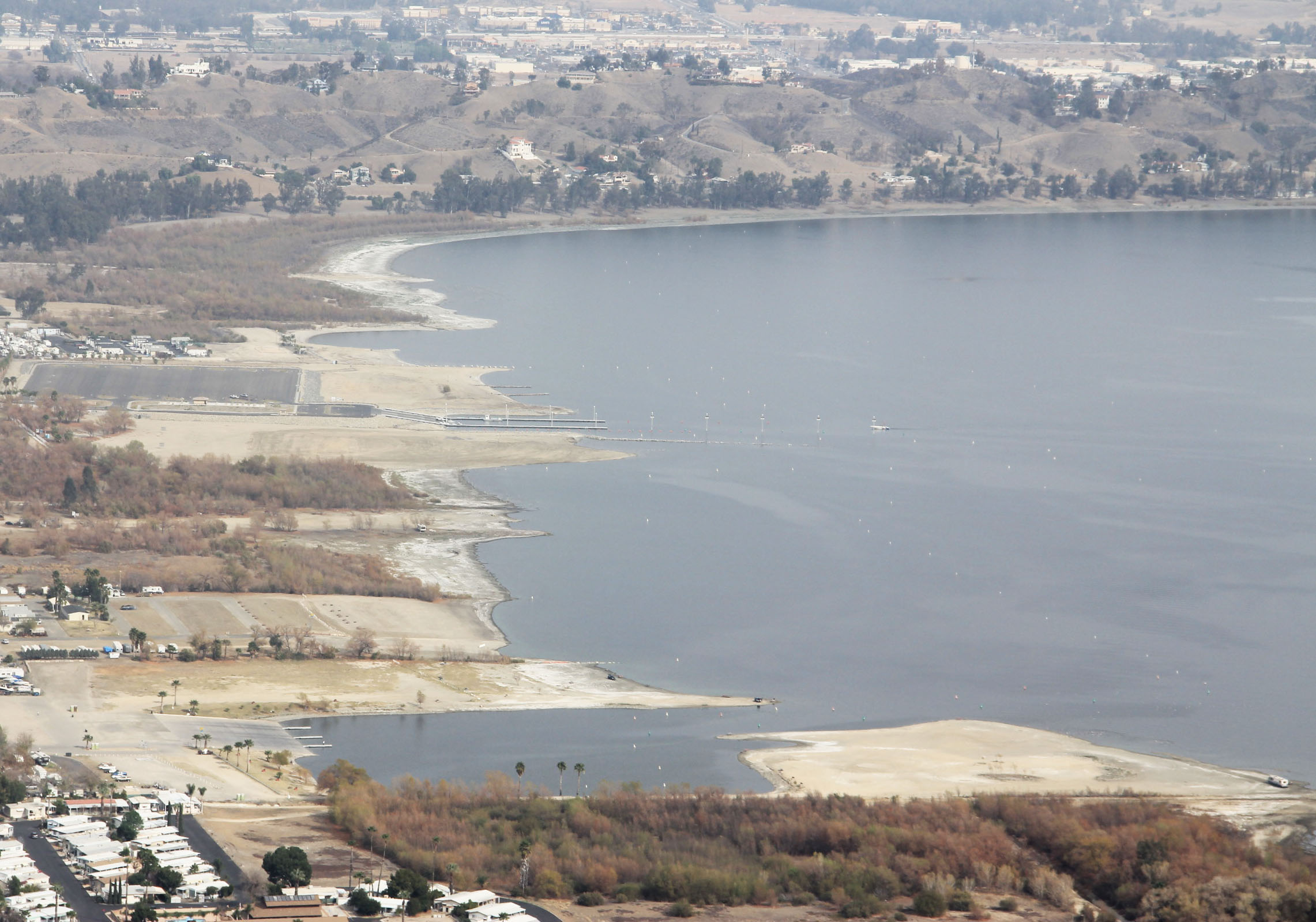 Drought what can a guy do about it kramer gone fishing for Lake elsinore fishing report